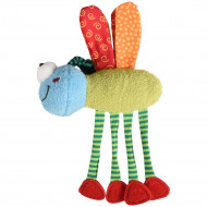CT YOWLY DRAGONFLY WITH PAWS MULTI 18cm