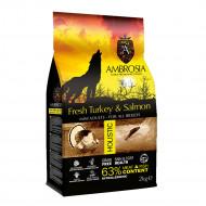 AMBROSIA MINI ADULT FRESH TURKEY & SALMON 2kg