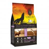 AMBROSIA MINI ADULT DEER & FRESH SALMON 6kg