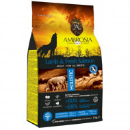 AMBROSIA ADULT LAMB & SALMON 12kg