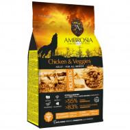 AMBROSIA ADULT CHICKEN & VEGGIES 12kg