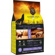 AMBROSIA ADULT FRESH VENISON & LAMB 2kg